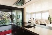 舒适的现代厨房 — 图库照片