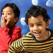 Happy Indian children — Stock Photo