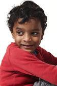 Portrait of sweet Indian boy — Stock Photo