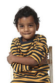 Portrait of Indian boy — Stock Photo