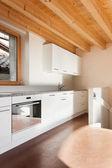 Interior, domestic kitchen — Stock fotografie