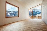 Quarto em casa de montanha — Foto Stock