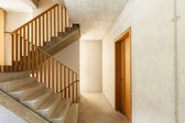 Mountain home, staircase — Photo