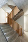 Interior home, staircase — Photo