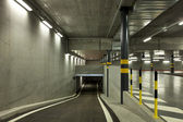 Parking tunnel — Stock Photo
