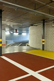 Underground parking, entry — Stock Photo