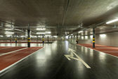 New underground parking — Stock Photo