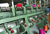 Industrial textile factory — Foto de Stock