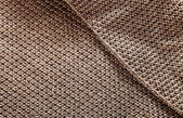 Woolen fabric brown — Stock Photo