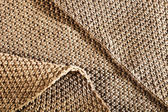 Woolen fabric brown — Stock Photo