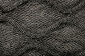 Woolen fabric gray — Stock Photo