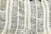 Woolen fabric white detail — Stock Photo