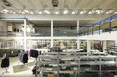 Interior clothing factory — Zdjęcie stockowe