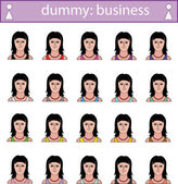 Dummy — Stock Vector