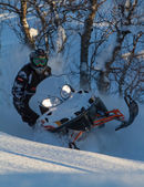 Snowmobile — Photo