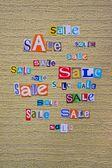 Anuncio de venta — Foto de Stock