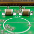 SMD Capacitors on PCB — Stock Photo #21678183