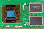 Placa de circuito impresso — Foto Stock