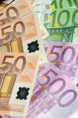 Euro Bills — Stock fotografie