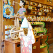 Pinocchio, italian wooden dolls  — Stock Photo