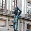 Perseus holding head of Medusa, Florence — Stock Photo