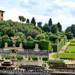 Pitti Palace and Boboli Gardens, Florence — Stock Photo