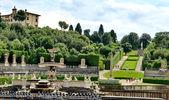 Pitti Palace and Boboli Gardens, Florence — Stock Photo