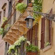 Balconies in Verona, Italy — Stock Photo