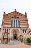 Церковь Санта Анастасия Италия — Стоковое фото