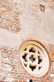 Façade de la maison de juliette en italie — Photo
