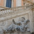The Nile Statue in  Capitol in Rome, Italy  — Stock Photo