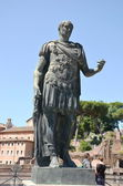 Statue in Rome, Italy — Stock Photo