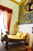 Спальня Сальвадора Дали — Стоковое фото