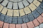 Building grange texture brick wall — Stock Photo