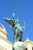 Statue of  greek goddess  in Vienna — Photo
