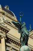 Statue in Vienna — Stock Photo