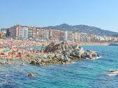 Playa costa brava — Foto de Stock