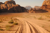 Wadi Rum desert, Jordan — Stock Photo