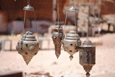 Lantern in arabic style — Stock Photo
