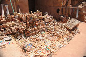 Antiquities in a market in Petra, Jordan — Stock Photo