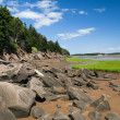 Stock Photo: Fundy Shoreline