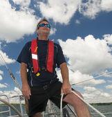 Styl życia żeglarstwo — Zdjęcie stockowe