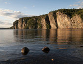 Cliffside Sunset to Bon Echo — Stock Photo