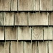 Antique Cedar Siding - Stock Photo