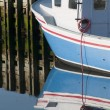 Stock Photo: Lobster Boat Reflection