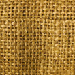 Burlap Macro - Stock Photo