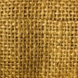 Burlap Macro — Stock Photo