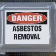 Danger Asbestos Removal — Stock Photo #20171331