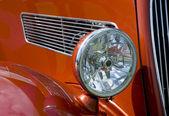 Antika bil strålkastare — Stockfoto