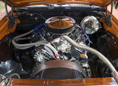 Muscle Car Engine — Stock Photo